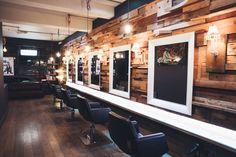 Salon interior at Nashwhite Hairdressing