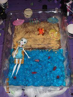 Lagoona Blue Beach Cake