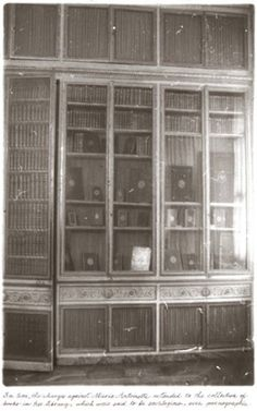 """""""Marie Antoinette's Library, from 'Unseen Versailles', © Deborah Turbeville / Staley-Wise Gallery New York Louis Xvi, Roi Louis, Become A Photographer, French History, Palace Of Versailles, France, Vintage Girls, Marie Antoinette, The Conjuring"""