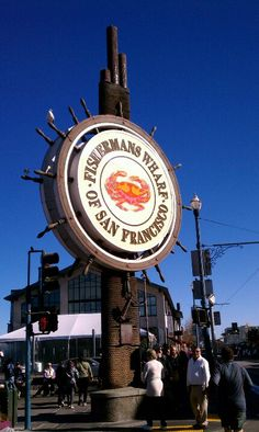 Fisherman's Warf and Pier 39 are both the ultimate tourist destination for food, entertainment, and spectacular views. Enjoy clam chowder in a bread bowl from Boudin Bakery or walk to Ghirardelli Square for an ice cream sundae!