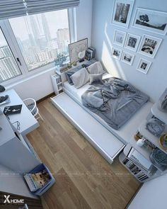 Simple room design is part of Small room bedroom - Room Design Bedroom, Small Room Bedroom, Home Bedroom, Bedroom Decor, Bedroom Ideas, Small Rooms, Bed Room, Ideas For Small Bedrooms, Small Room Interior