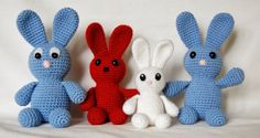 Bunny JÄNKS Pattern is in English, Deutsch and Eesti Keeles