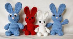 Bunny JÄNKS Pattern is in English, Deutsch and Eesti Keeles