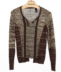 BKE Double Breasted Cardigan Sweater
