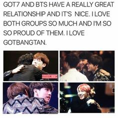 #got7 #bangtanboys #gotbang