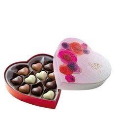 Godiva Valentines Heart Chocolates from £12.00