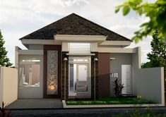 2 Storey House Design, Facade House, Home Design Plans, Home Fashion, Exterior Design, Kitchen Remodel, Modern Design, Mansions, Architecture