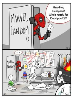 Deadpool & Marvel fandom || Deadpool 2 by gamerwithamonocle