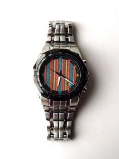 Skate Watch Recycled Skateboards Wrist Watch Made by SecondShot