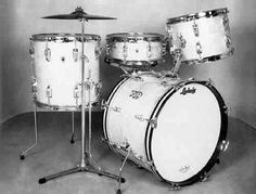 Ludwig 4 Pc. Classic Drum Sets - 1960s