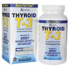 Absolute Nutrition - Thyroid T3 - 180caps www.supplement outlet.ie
