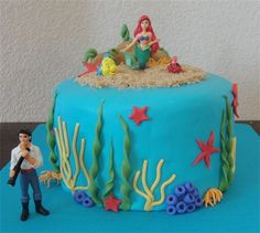 Ariel Birthday Cake. So getting this for my future daughter.