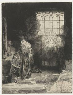 Фауст (гравюра Рембрандта) — Википедия