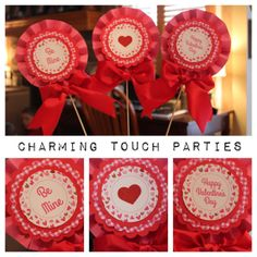 Custom Valentine's Day by CharmingTouchParties on Etsy, $18.00