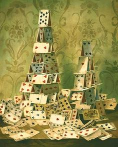 building this (or something like it after our cards game).  #lovejohnnywas House of Cards.