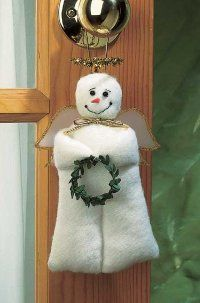 This is a finished Heavenly Door Hanger...step by step instructions! Love this link!