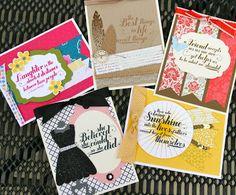 Krystal's Cards: Stampin' Up! Feel Goods #stampinup #krystals_cards #feelgoods #greetingcardfundraiser #handstamped #papercrafts #cardmaking #stampsomething