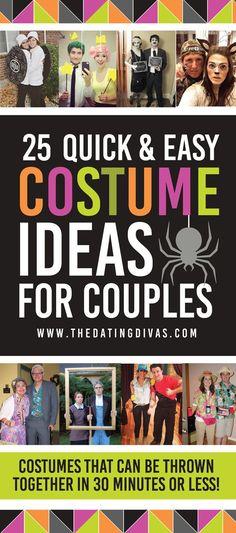 50 Last Minute Couples Halloween Costume Ideas Pinterest Diy - cheap couple halloween costume ideas