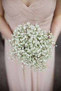 gypsophila wedding bouquet, image by http://www.milkbottlephotography.co.uk/
