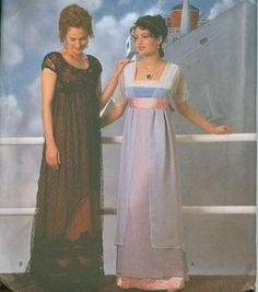 simplicity 8399 titanic dress