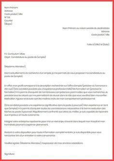 Exemple Demande D'emploi Inspirational Lettre De ...