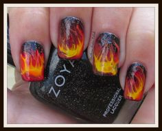 Southern Sister Polish: 31 Days of October... Flame On!