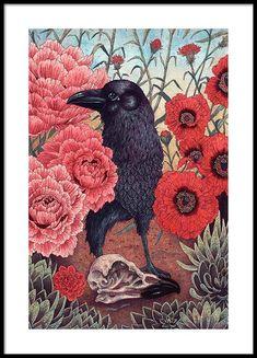 The Crow Julisteet ryhmässä Julisteet  / Koot / 50x70 cm @ Desenio AB (3205)