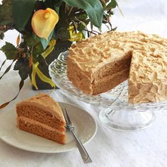 Die-hard PB fans only. A tender and moist peanut butter layer cake with a rich and creamy peanut butter frosting. Simply the BEST peanut butter cake EVER!