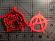 Sons of Anarchy Cookie Cutter by JBCookieCutters