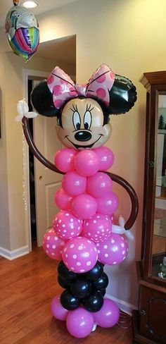 Large Minnie Mouse Party Balloons