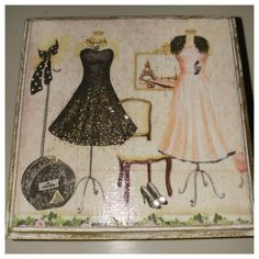 French Vintage Serviette Decoupaged Trinket box. Made by 8 yr old little girls at my Saturday Craft Workshop... Instagram:  shabby rococo Rococo, Trinket Boxes, French Vintage, Decoupage, Little Girls, Workshop, Shabby, Crafts, Instagram