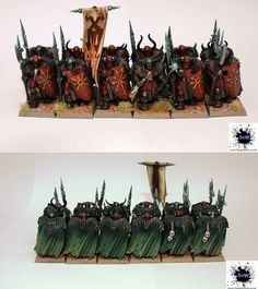 Warhammer Chaos Warriors, via Flickr.