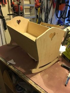 DIY American Girl Doll Cradle Plans - Step 12
