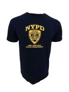 NYPD T-Shirt Size M Medium Navy Blue Short Sleeve New without tags #CityofNewYork #GraphicTee