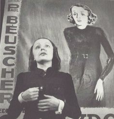 Edith Piaf par Gaston Paris, années 1930