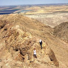 El Centinela #Mexicali an awesome terrain with breathtaking panoramic views, are you ready for a hike? #BajaCalifornia awaits! www.discoverbajacalifornia.com Adventure by Zairavega