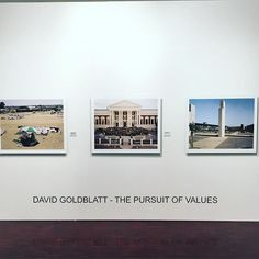 """#DavidGoldblatt The Pursuit of Values currently showing at the #StandardBankGallery  22 October to 5 December 2015  Summaries of his work that emphasize how he """"documented life under apartheid"""", an assessment that does a disservice to the style, scope and method of Goldblatt's work."""