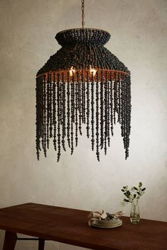 Hand-Beaded Vara Chandelier. Home LightingAnthropologieTracy ... & Pembridge Bone China Pendant Lamp | Pendant lamps Chandeliers and ... azcodes.com