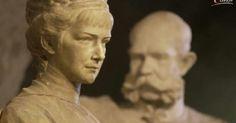 Standbeeld Elisabeth en Frans Jozef.