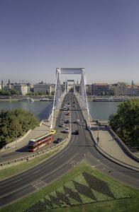 Elisabeth Bridge by Fabian G. #Budapest #Hungary #travel #Danube