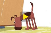 BirdBox - very short videos that tell a story. This one is adorable, students will enjoy it!! About a puppy eating dinner, only about 1 minute long. Students can narrate the story, can write another story about the same puppy, etc. Great for Preterite vs. Imperfect.