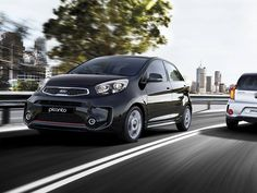 KIA Serves Up Fresh Picanto Facelift:the 2015 Picanto will feature the same talked-about redesigned front and rear bumpers as well as their updated 'tiger-nose' grille Kia Picanto, Dubai Rent, Dubai Uae, Hatchback Cars, Small Cars, Car Rental, Car Ins, Motor Car, Concept Cars