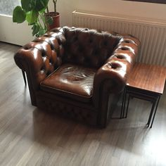 Chesterfield clubfauteuil