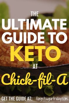 The Ultimate Keto Chick-fil-A Guide – What to Order and What to Avoid - Fast Food Keto Hacks - Keto Fast Food Breakfast, Breakfast Pancakes, Keto Fast Food Options, Keto Restaurant, Keto On The Go, Fast Healthy Meals, Keto For Beginners, Keto Fat, Keto Meal Plan