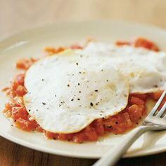 Eggs Over Easy with Peperonata   Williams-Sonoma
