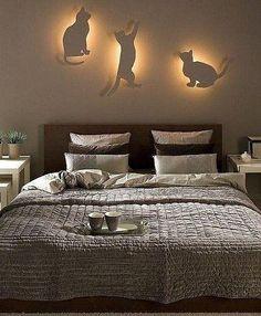 Светильники в виде кошек