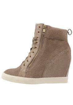 Pier One Sneaker high - taupe - Zalando.de