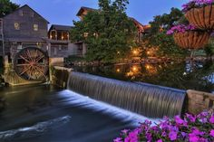 """Old Grist Mill """"Pigeon Forge Tennessee"""" it's a Restaurant now...(As most know)! :)  Built in 1830,The Old Mill is listed on the National Register of Historic Places, and just as in the 19th century, it's still one of the most popular places in the Smokies and one of the most photographed mills in the country."""