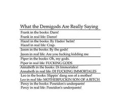 what demigods really mean