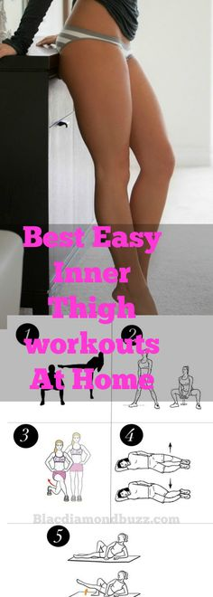 Best Easy Inner Thigh workouts at home to lose your inner and upper thigh fat and tone your Legs fast in 2 days